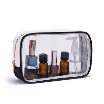 hello小店-化妝包透明防水韓國簡約韓國大容量女隨身便攜化妝品收納包#旅行用品#收納必備#