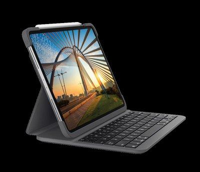 Logitech SLIM FOLIO PRO 背光鍵盤保護殼並具備藍牙功能 for iPad Pro 11-inch