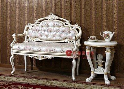 [紅蘋果傢俱] F126O 宮廷凡爾賽系列 頂級進口 歐式 皇室 休閒沙發椅 法式沙發椅 新古典 布沙發椅