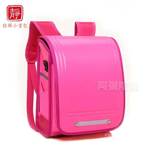 【靜心堂】日本小學生書包--粉紅色單書包(27*14*33cm)