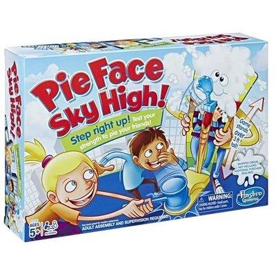 大安殿實體店面 免運 Pie Face Sky High 砸派遊戲大力搥遊戲組 瘋狂砸派機 孩之寶正版