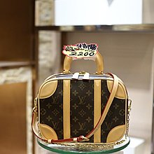 LV Mini Luggage 手袋。