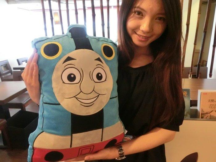 湯瑪士卡通 湯瑪士小火車大枕頭 湯瑪士抱枕生日 兒童節禮物~畢業禮物