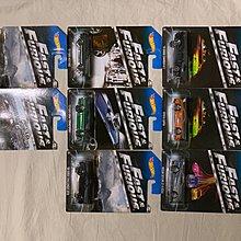 Hot wheels Fast&Furious 1 Set
