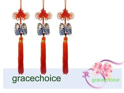 風姿綽約--荷蘭鞋福祿吊飾(A064) ~Chinese Knots 饋贈外國友人的好禮 ~ 純手工製作