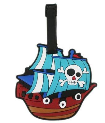 【卡漫迷】海盜船 行李吊牌 ㊣版 海賊...