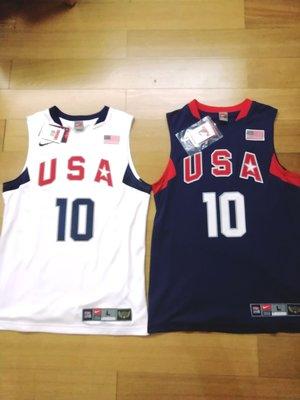 科比2008梦八队全新带牌球衣