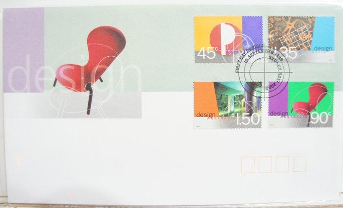(全新) 1999年-澳洲-Design主題-首日封