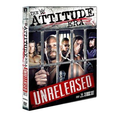☆阿Su倉庫☆WWE摔角 Attitude Era Vol. 3 DVD WWF輝煌年代經典賽事第3輯 熱賣特價中