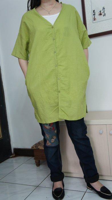 (老銀屋)原創夏季新款落肩短袖V領開衫上衣