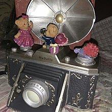 Mabelle 鑽飾紀念品 相機造型 音樂盒 戒指盒