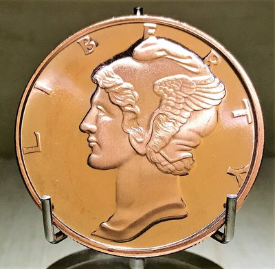 «自由銀»Mercury Dime 水星純銅幣 (1 oz)