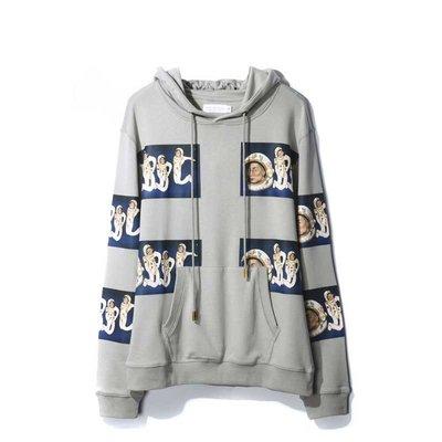 Mike Frederiqo Spacing Out Hooded Sweatshirt 灰色