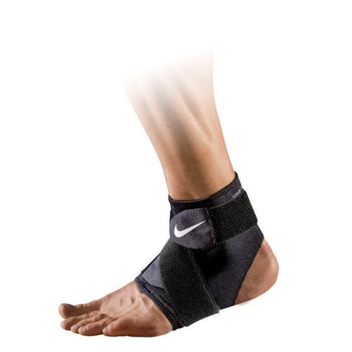 (羽球世家) NIKE PRO 調節式護 踝套2.0(亞規) 黑/白、 黑/紅(M-XL)