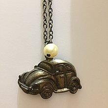 金龜車/老爺車項鍊,金屬,珍珠,可愛,穿搭必備