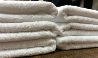 台灣製100%純棉 24兩 純白 素面毛巾