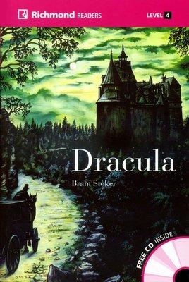 【優惠/英語/讀本/小說/德古拉/吸血鬼】Richmond Readers:Dracula (with CD)