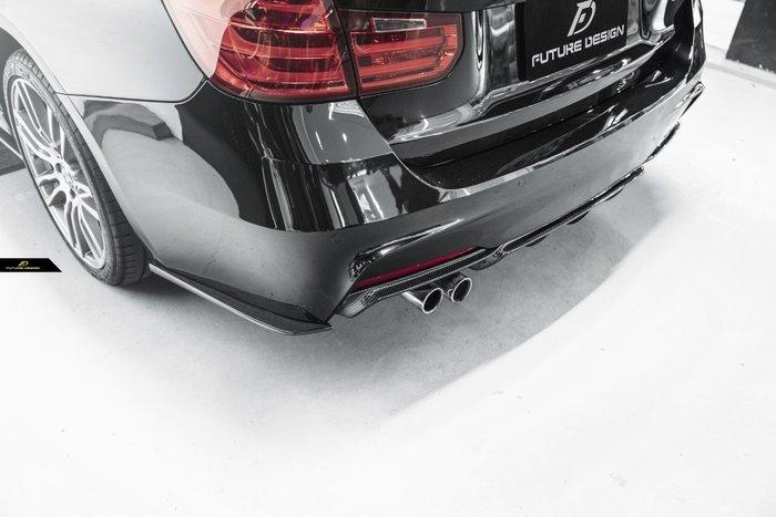 【政銓企業有限公司】BMW F30 F31MTECH P款 單邊雙出 抽真空 卡夢 後下巴 免費安裝 現貨供應 330