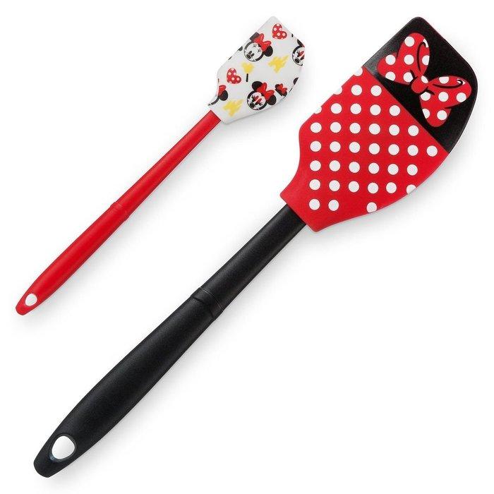 代購現貨 美國加州迪士尼商品 米妮烘焙刮刀/攪拌刀 2件組