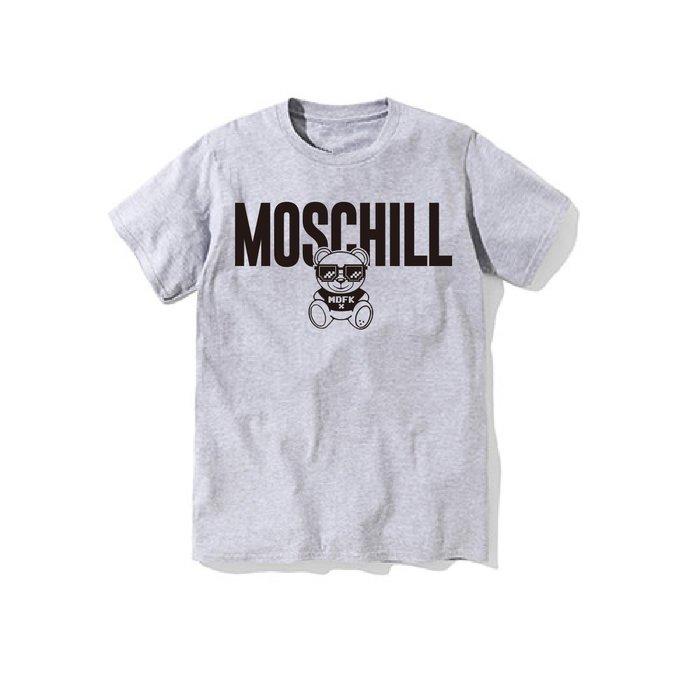 【DOOBIEST】- MOSCHILL Tee MEN'S T SHIRT (灰)