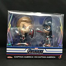 Hot Toys Cosbaby 系列 Avengers End Game Captain America vs Captain America