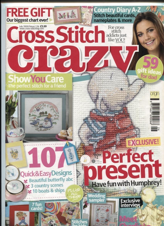 紅蘿蔔工作坊/美國刺繡書=Cross Stitch Crazy ISSUE126