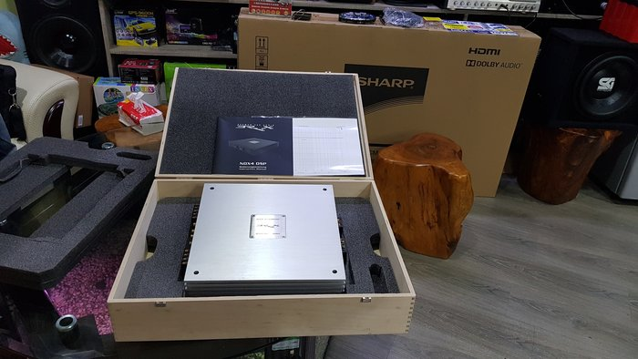 保證正品  BRAX 德國原裝進口  頂級 DSP 汽車音響  (旗艦擴大機)