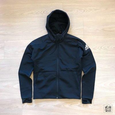 (貳柒商店) adidas ID Climaheat Stadium Jacket 男款 黑色 刷毛 外套 CW3252