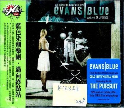 *真音樂* EVANS BLUE / THE PURSUIT BEGINS WHEN THIS PORTRAL OF LIFE ENDS 全新 K14455