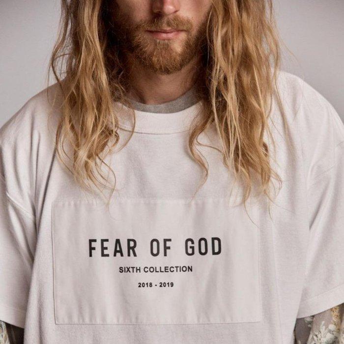 全新商品 FEAR OF GOD FOG 6TH 19SS COLLECTION 短袖 TEE
