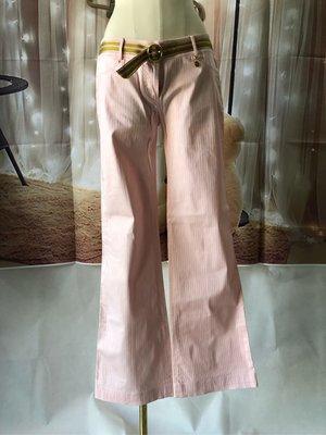 專櫃品牌 JORYA 二手 粉紅色女生長褲近新8碼 送洗完畢【蜜謀MIMO】