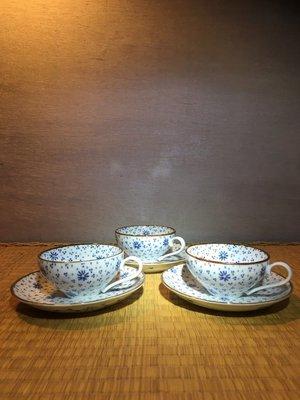 (店鋪不續租清倉大拍賣)小花星點咖啡杯組#1009#特價1680元