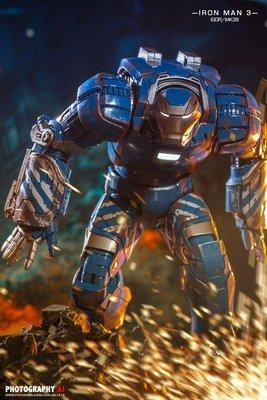 Comicave 1/12 比例 超合金 Iron Man 鋼鐵人 MK38 Igor 伊格爾