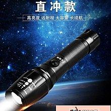 手電筒 手電筒強光可充電式超亮多功能特種兵遠射氙氣燈【韓潮來襲】