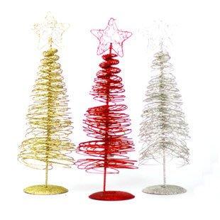 30公分**聖誕樹*(鐵絲聖誕樹)