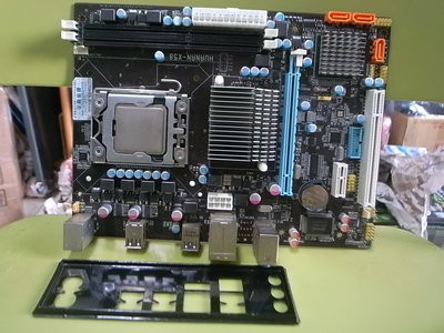 高雄路竹--華南 X58 主機板(含檔板)1366腳位,加上Intel Xeon X5570 高雄市
