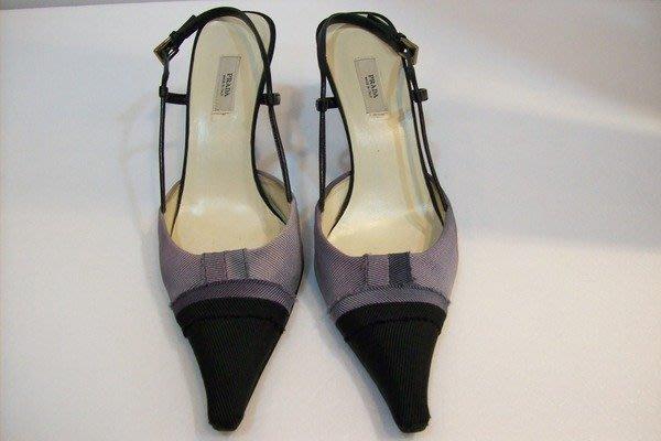 *旺角名店* Prada 紫色漸層包 高跟鞋 雙色鞋 涼鞋 jimmy manolo 特價3000 [021104]