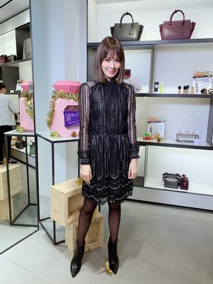 【血拼妞】Michael Kors Embroidered Lace Dress Melody 劉真同款 洋裝《預購》