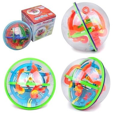 佳佳玩具 ----- Magical 100關 迷宮球 智力球 3D迷宮 小號 立體魔幻球 益智玩具 【CF66187】