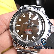 Rolex [RARE VINTAGE] Double Red Sea-Dweller 1665 MK2 1.7m Serial Tropical Dial