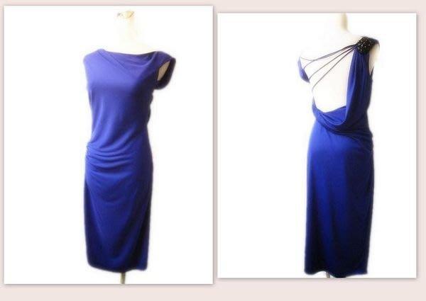 *Beauty*BCBG紫色露背洋裝 XS號 WE12