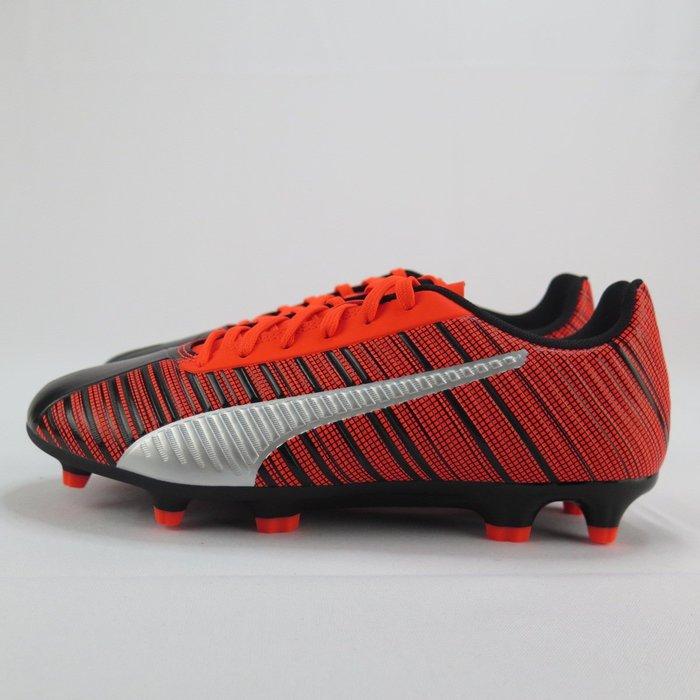 PUMA ONE 5.4 IT 釘底足球鞋 10560501 男款 橘紅黑【iSport愛運動】