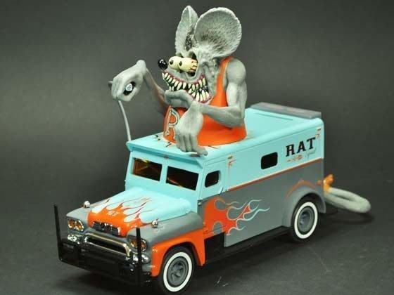 (I LOVE樂多)RAT FINK RF老鼠芬克存錢桶 既可儲金意也是擺飾喔送人自用兩相宜