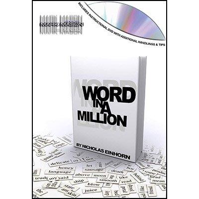 【天天魔法】【S1028】正宗原廠~書本測試~Word In A Million by Nicholas Einhorn
