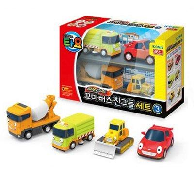 TAYO小巴士  工程車4件組_ TT 72621 原價795元 官方直銷店 永和小人國玩具店