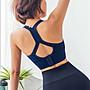 運動內衣哪裡買 運動BRA專業防震無鋼圈瑜珈背心 瑜珈 韻律 跑步 慢跑 運動型內衣 有胸墊 內衣 A2168 路依坊