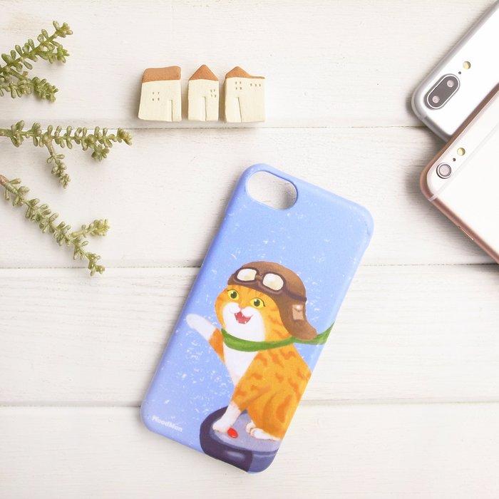 勤勞的黃貓,有貓手機殼 (iPhone系列)
