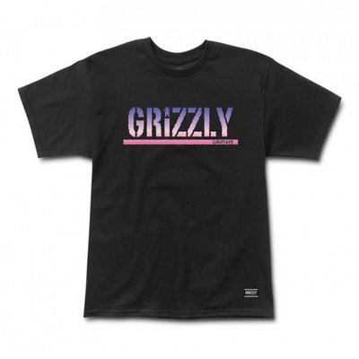 [WESTYLE] Grizzly Griptape Sunset Woods Stamp Tee 黑 短T