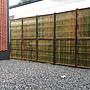 室外青竹竹片竹編竹圍籬--寬19米*高3米6