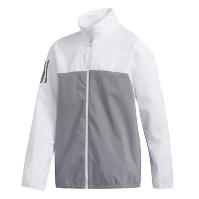 [小鷹小舖]Adidas PROVISIONAL JACKET 阿迪達斯 高爾夫 小孩 青少年 長袖夾克 防風防水